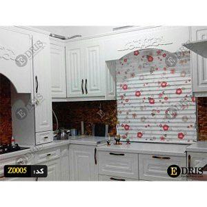 پرده آشپزخانه مدل زبرا